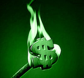 Hot green MONEY